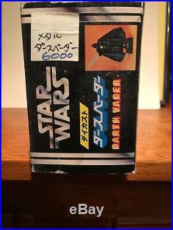 Takara die-cast Darth Vader figure vintage Japanese Star Wars toy w BOX