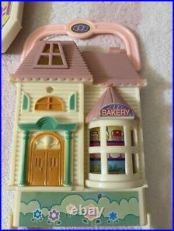 Teddy's Wonderland Vintage 1990's Shops Bear Figures Accessories Set Toy Lot