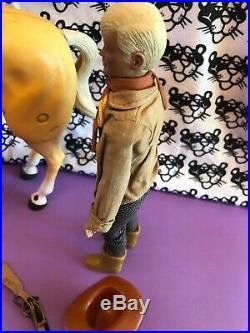 The Lone Ranger 1974 Gabriel Danny Reid Action Figure Banjo Horse
