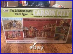 The Lone Ranger Rides Again In Carson City Old West Town And Action Figures