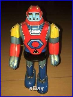 Tin UFO Warrior Dai Apolon BullMark Vintage Figure Toy610
