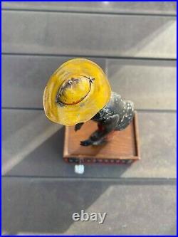 Tombo Alabama Coon Jigger Vintage Original Tin Litho / Clockwork RARE 1910