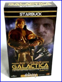 Tower Records Battlestar Galactica Starbuck Dirk Benedict 12 Inch Figure Doll