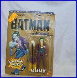 Toy Biz Vintage 1989 DC Comics Batman Action Figure Lot Joker Bob Batman