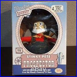 Toy Story Prospector Figure Doll Roundup Rare Young Epoch vintage Japan