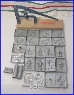 Toy Vintage Injection Die Casting 10 Molds by World Die Caster Molding Figures