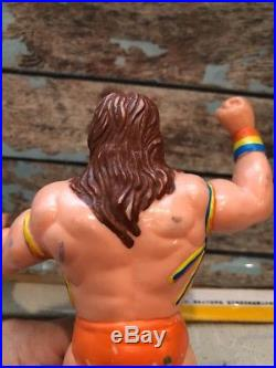 ULTIMATE WARRIOR RARE WWF LJN Wrestling Action Figure VTG WWE WCW AWA Titan Toy