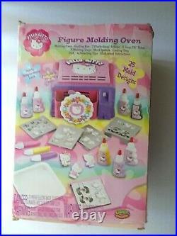 USA SELLER Sanrio Hello Kitty Patti-Goop Oven 2003 Vintage Toy Figure Mold NEW