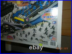 Ultimate Battle Aircraft Carrier planes figures A Tim Mee Toy Co. Giant Ship