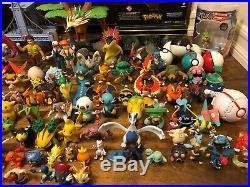 Used Lot Of 166 Vintage Tomy, Bandai, Jakks Gen 1 6 Pokemon Toy Figures