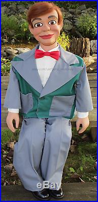 (Used by Paul Winchell) Jerry Mahoney ventriloquist dummy doll puppet figure
