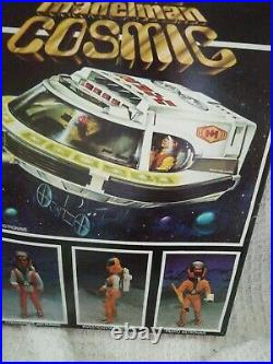 VERY RARE VINTAGE 80's MADELMAN Cosmic Figure Super Rare Spanish Toy CM02