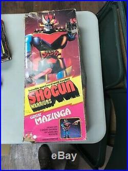 VINTAGE 1976 MATTEL Shogun Warriors MAZINGA 24 ACTION Figure #9860 TOY WITH BOX