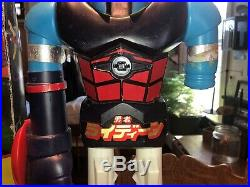 VINTAGE 1976 MATTEL Shogun Warriors Raydeen 24 ACTION Figure #9859 TOY WITH BOX