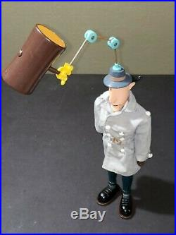 VINTAGE 1983 12 INSPECTOR GADGET action figure complete toy doll by BANDAI