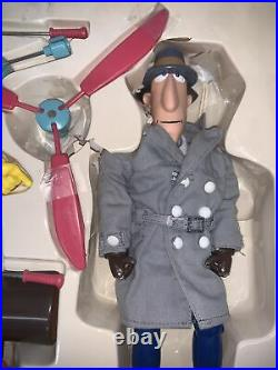 VINTAGE 1983 Galoob 12-15 INSPECTOR GADGET action Figure Toy Doll COMPLETE