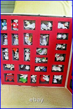 VINTAGE 1996 McDONALDS 101 DALMATIONS COMPLETE TOY FIGURE COLLECTION With BOX