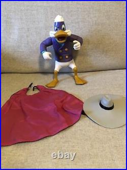 VINTAGE Disney DARKWING DUCK 12 Giant action figure toy 1991 Playmates COMPLETE