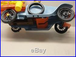 VINTAGE IDEAL 1960's BEVERLY HILLBILLIES CAR TRUCK with FIGURES