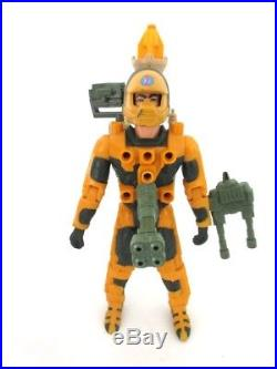 VINTAGE KENNER CENTURIONS JAKE ROCWELL FIREFORCE Rare Toy Figure 100% 87