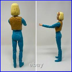 VINTAGE MARX Jane And Johnny West Cowboy Cowgirl Action Figure 1960s