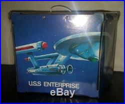 VINTAGE Mego Star Trek U. S. S. Enterprise Play Set Toy with 4 Action Figures 1975