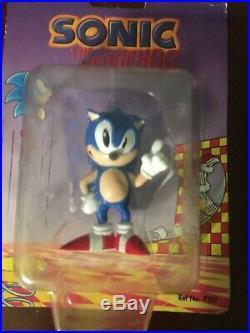 VINTAGE Sonic the Hedgehog Tomy 1992 Figures Toy Tails Robotnik Eggman RARE