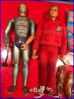VIntage Toy Action Figure Lot Steve Austin 6 Million Dollar Man Maskatron Look
