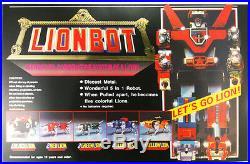 VOLTRON LIONBOT 1980 Vintage DIE CAST TAIWAN VERSION TOY ROBOT FIGURE NEW