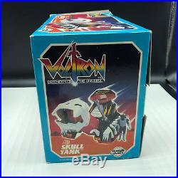 VOLTRON VINTAGE ACTION FIGURE LION toy 1984 PANOSH PLACE Skull tank commander