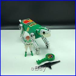 VOLTRON VINTAGE ACTION FIGURE LION toy box 1984 PANOSH PLACE Green Pidge Left