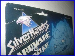 VTG 1987 Kenner Silverhawks Hardware with Prowler Action Figure Silver Hawks Toy