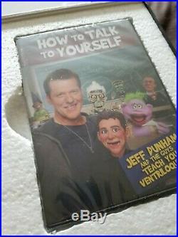 Ventriloquist dummy doll celebrity Jeff Dunham Lil Jeff figure NEW MIB NEW