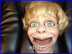 Ventriloquist dummy figure