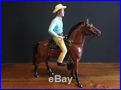 Vintage 1950s Hartland RIFLEMAN LUCAS McCAIN Complete Cowboy Western Figure Toy