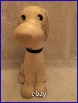 Vintage 1958 Snoopy United Feature Syndicate Original Peanuts Squeeze Toy Rare