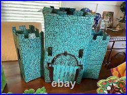 Vintage 1970s Wizard Of Oz Mego HUGE Lot! Witches Castle Figures Em City LOOK