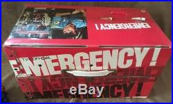 Vintage 1973 Emergency! Center TVs Official With Action Figures LJN Rare