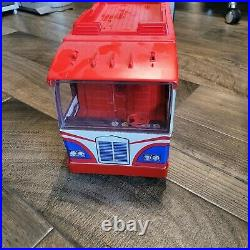 Vintage 1973 Ideal Evel Knievel Scramble Van With Original Box and Figure
