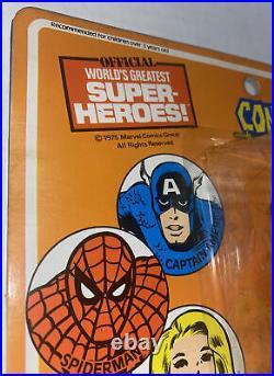 Vintage 1975 Mego Conan Barbarian Action Figure Toy Marvel NRFP On Card