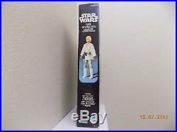 Vintage 1977 STAR WARS LUKE SKYWALKER FIGURE DOLL 12 RARE ALL ORIGINAL TOY BOX