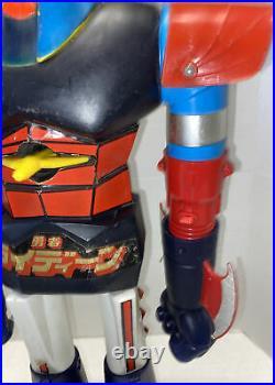 Vintage 1978 Raydeen 24 Shogun Warriors Jumbo Plastic Mattel Action Figure Toy