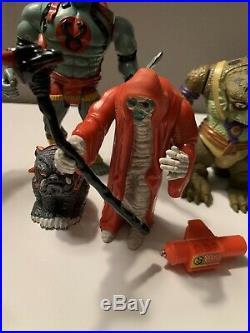 Vintage 1980's ThunderCats Action Figure LJN Toy Lot Jaga Lion-O Mumm-Ra Snarf