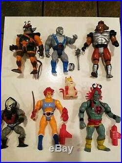 Vintage 1980's ThunderCats Action Figures LJN Toy Lot! Great Condition!