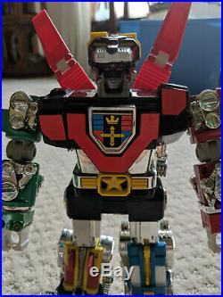 Vintage 1981 Voltron Diecast Die Cast Metal Toy Action Figure
