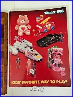Vintage 1983 Kenner Action Figures Toy Fair Catalog Star Wars Rotj Ssp Racers ++
