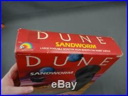 Vintage 1984 LJN DUNE Movie Sandworm Toy Monster Action Figure Sealed VG Cond