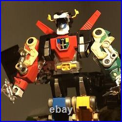 Vintage 1984 Voltron Lions with Sword And Shield Vintage 80s Toy Action Figure