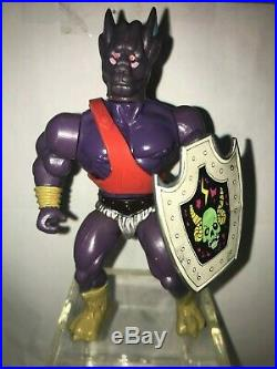 Vintage 1985 Defenders of the Planets by Sparkle Toy, Lot of 4 Figures & 3 Beast
