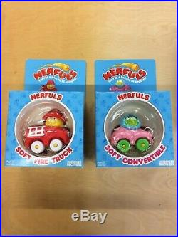Vintage 1985 Nerfuls Collection Lot of 14 figures Mint in Factory sealed boxes